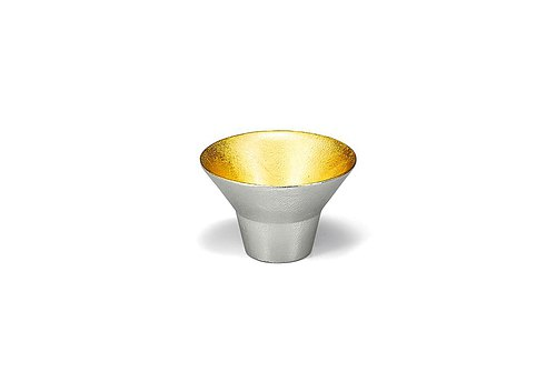 Pure tin gold foil feast cup