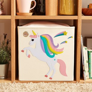 American kaikai & ash Toy Storage Box - Starry Unicorn