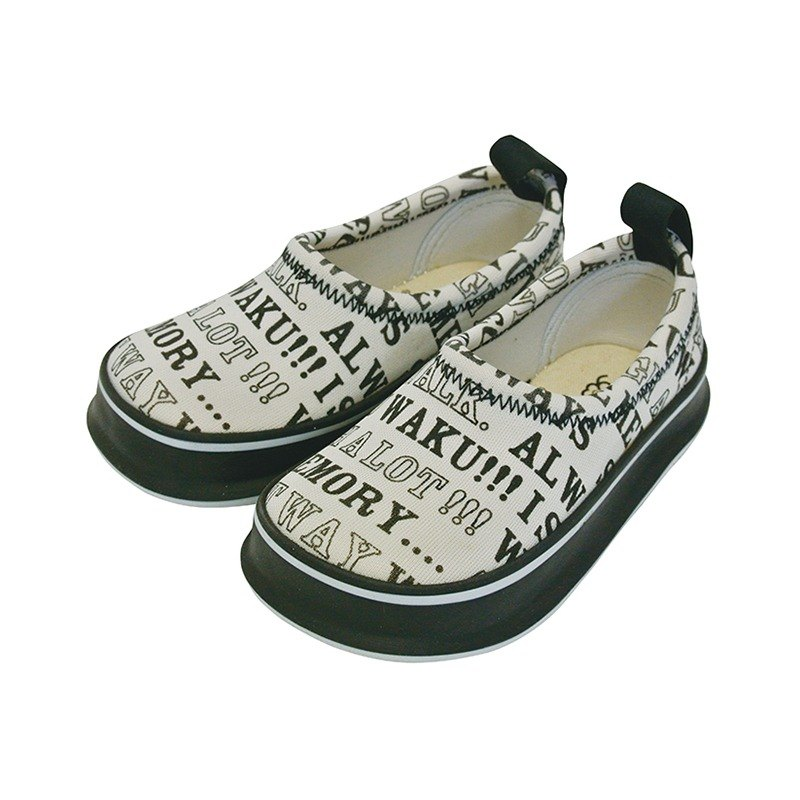 Japan SkippOn children's leisure shoes - letters Rhapsody