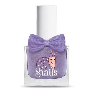 Purple comet meteor purple (purple + silver) / snails Greek mythology, children, non-toxic water-based nail polish /