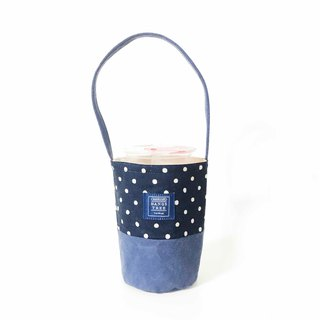 Drink bag - dark blue pearl
