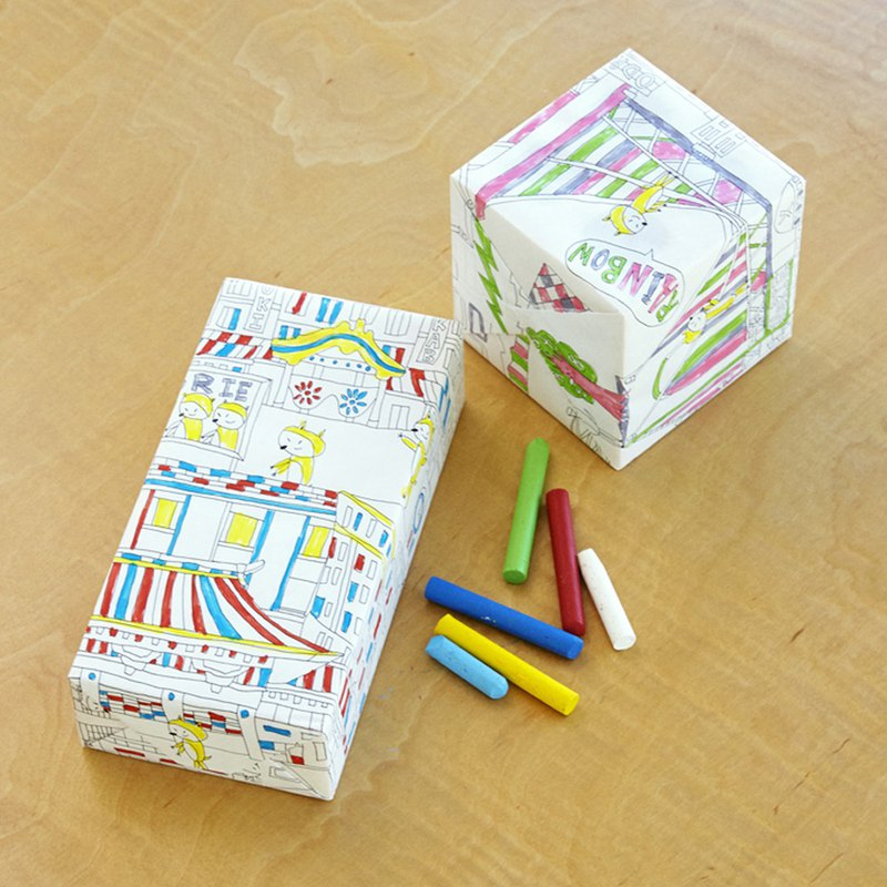 Creative Coloring Graffiti Paper from Japan - # NuRIEto Multi-purpose Graffiti Paper No. 1 - No.3 # Made in Japan Family Fun Creative Goods