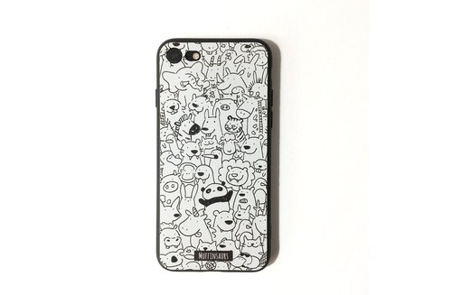 Zooty Pooty Monochrome Iphone 7 Case