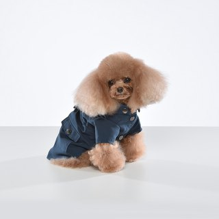 Functional detachable hooded pet jacket
