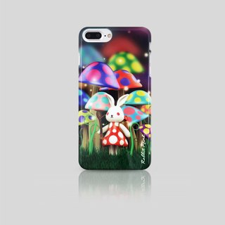 (Rabbit Mint) Mint Rabbit Phone Case - Bu Mali Mushrooms Series Merry Boo - iPhone 7 Plus (M0003)