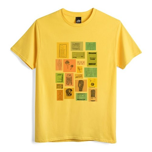 Daily One - Yellow - Neutral Edition T-Shirt
