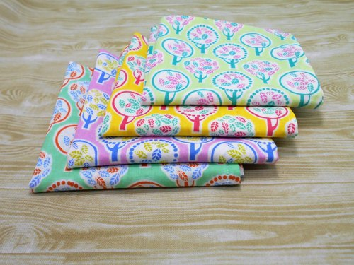 Nordic Flower Series -tree series (Foundation): Japan 100% cotton double cotton handkerchief limited commodity.