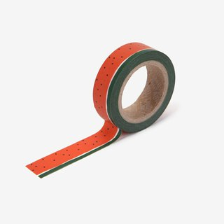 Dailylike single roll of paper tape -101 watermelon, E2D03831