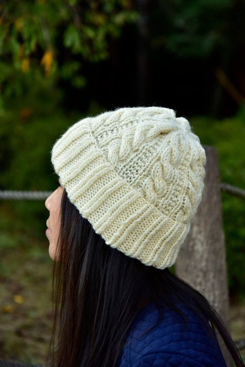 Alan knit hat