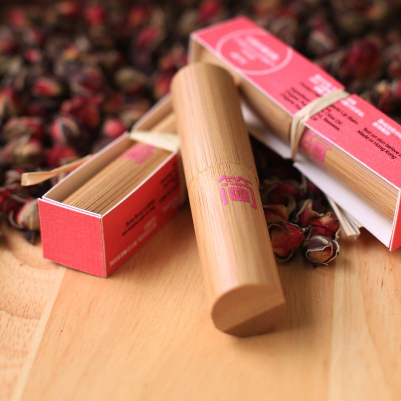 Organic Lip Balm Rose 4ml