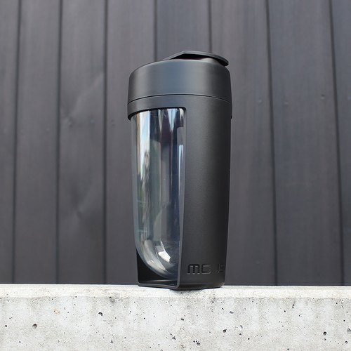 MOUS fitness bottle and shaker bottle-black