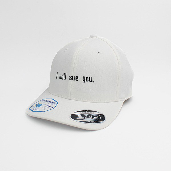 ONE TEN® PRO-FORMANCE - I Will Sue You (White)