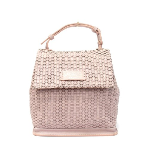 F.POPS! Featured [New Year] [Limited] classic knit small messenger bag (rose pink)