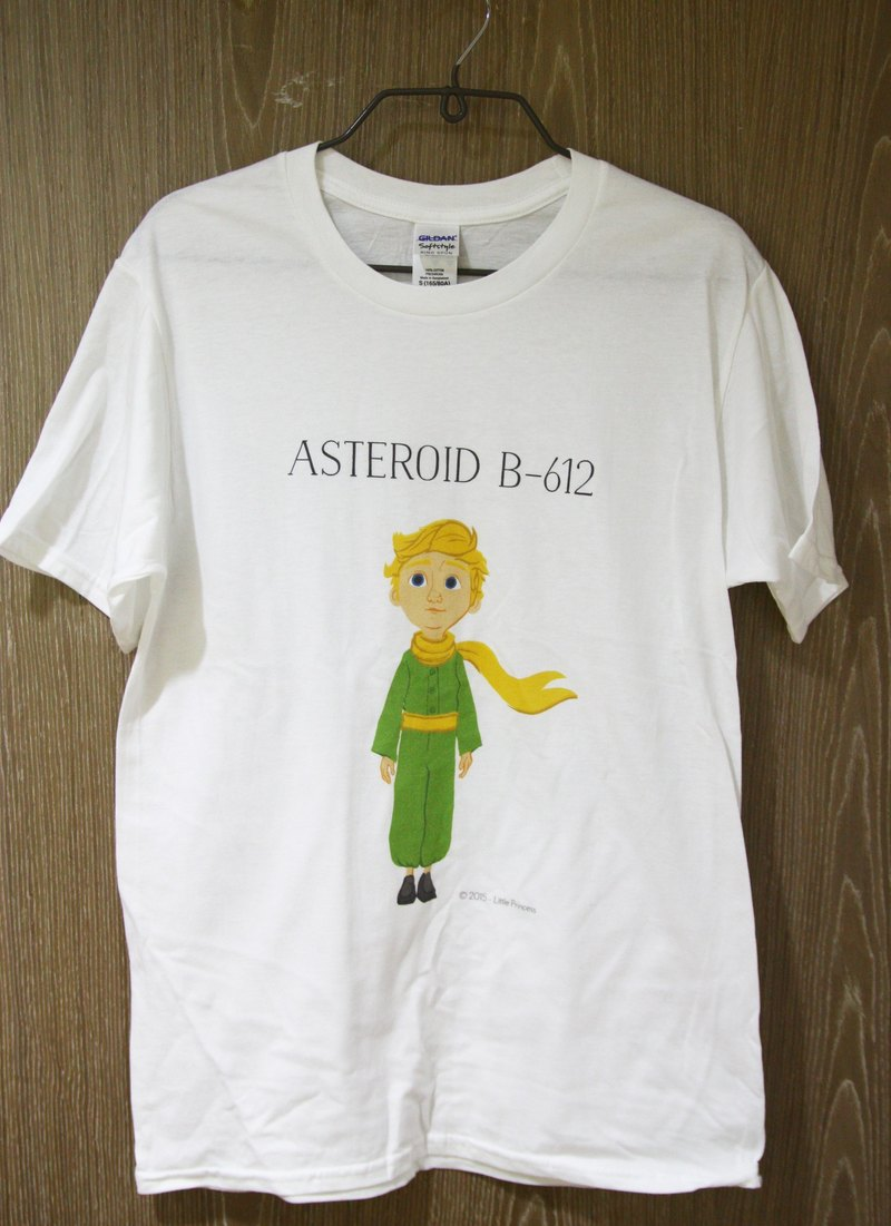 Little Prince Film Edition Authorization - T-shirt: 【B612】 adult short-sleeved T-shirt, AD1