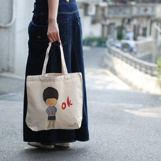 Cotton Canvas Bag - OK