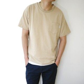 Side Opening Sweater /plain/cotton/couple/clothing