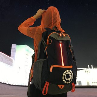 Light travel Goannar LED outdoor sports backpack bottom shoe bag compartment design