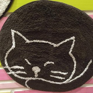 Pre-order in the open cats / black cat mats