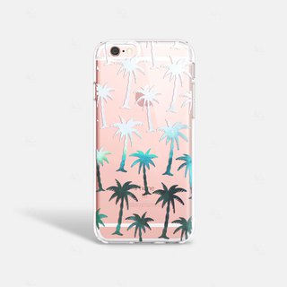 Tropical iPhone 7 Case Clear iPhone 8 Case Clear iPhone 7 Plus Case iPhone 6S