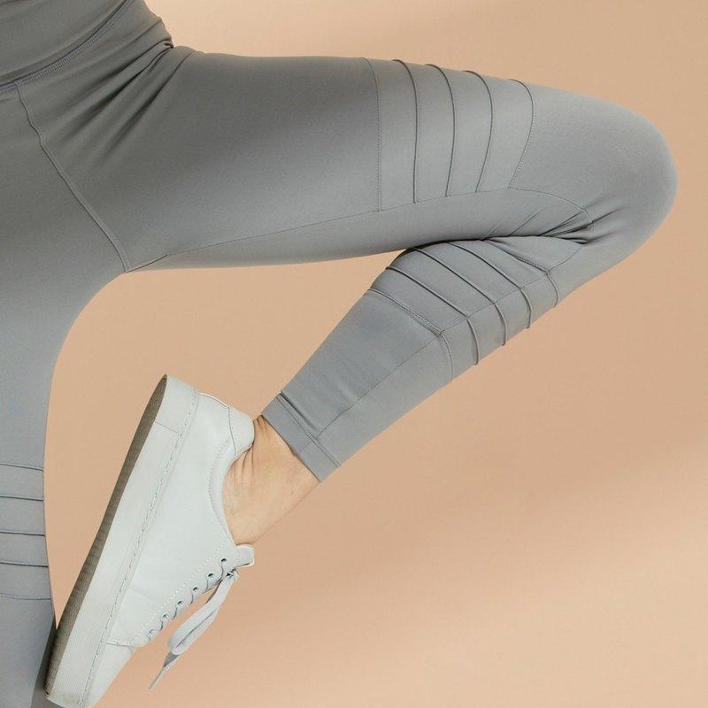 Jett Moto Legging in Grey