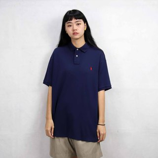 Tsubasa.Y Ancient House 013 Navy F Ralph Lauren POLO Shirt, Vintage Vintage