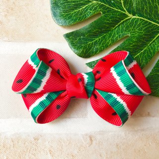 Watermelon small fresh bangs hairpin (summer limited)