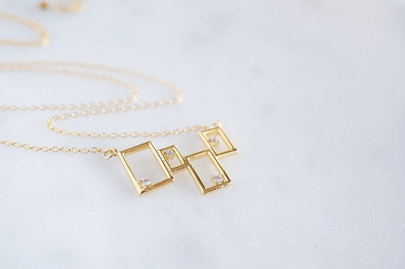 【14KGF】Necklace,Synchronicity-A-