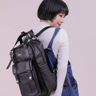 [Chinese Valentine's Day gift 88% off] RITEX adventure live treasure joint name - roaming bag (M) - leather black