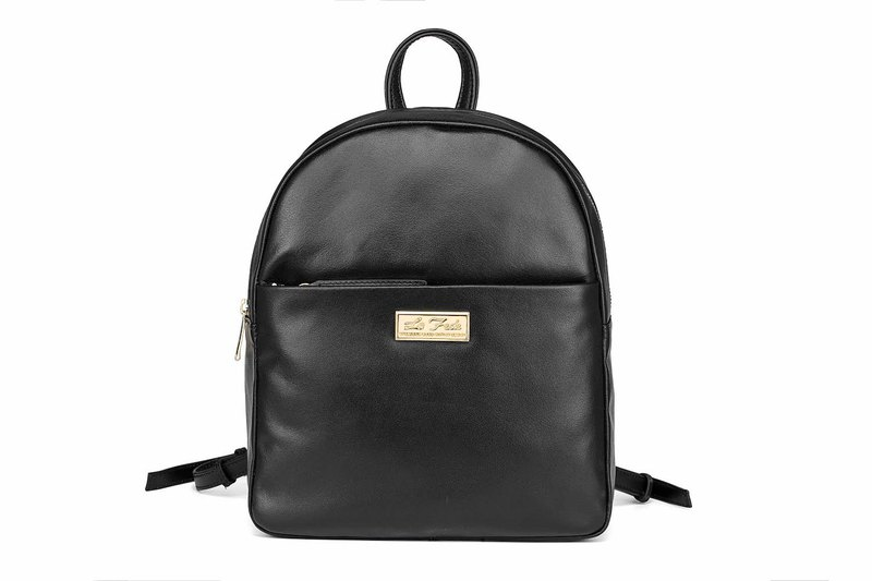 [La Fede]Simple Leather Backpack - 30% off during the graduation season