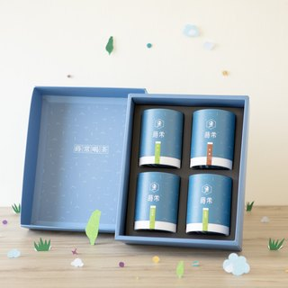 [Jinyu Mantang Gift Box] Four varieties of Taiwanese tea.乌龙 / 金萱 / Four Seasons Spring / Jade