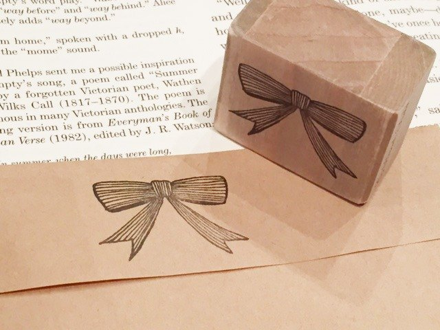 Ribbon stamp