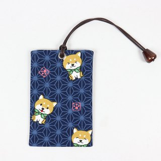 Youyou Card ID Card Set Card Holder - and Match Dog (Blue)