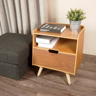 Open small cabinets to store storage bedside cabinets