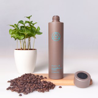Coffee extraction bottle tree shampoo