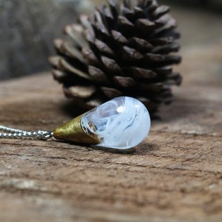*IN STOCK* Wonder burl wood collection - FROZEN necklace