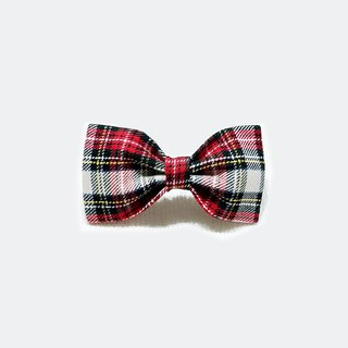 Ella Wang Design Bowtie Bow Tie Bows and Dogs England Plaid