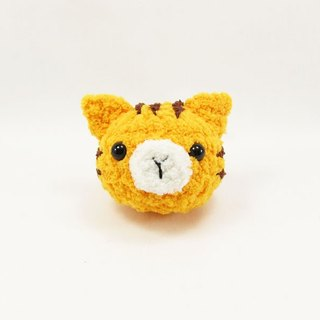 Orange Cat - Cat - Key Ring - Hair Accessories