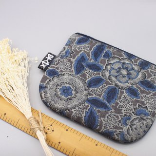 Ping Le Small Pack - Gray Blue Flower, Double Color