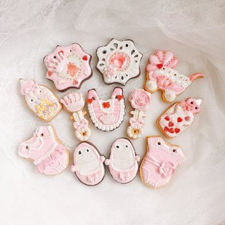 Princess Sugar Cookies Biscuits