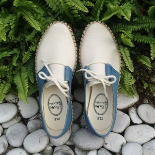 Jana blue and white straw casual shoes (adult) (0 yards special offer only accept returns)