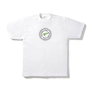 Limited Thick T-Shirt - Dinosaur White