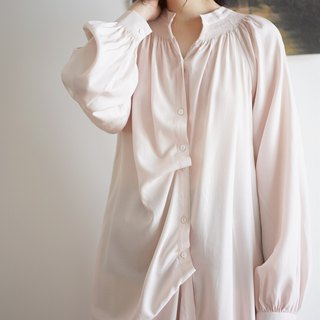 Soft Sense Pajamas Shirt Dress
