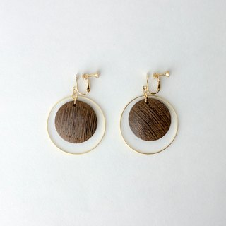 CircleDot Wood Earrings Earrings Earrings Earrings