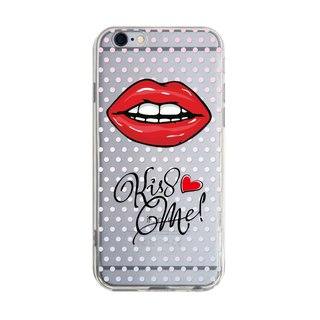 Kiss me - Samsung S5 S6 S7 note4 note5 iPhone 5 5s 6 6s 6 plus 7 7 plus ASUS HTC m9 Sony LG G4 G5 v10 phone shell mobile phone sets phone shell phone case