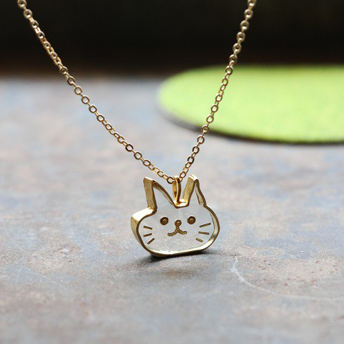 Cat N328 necklace