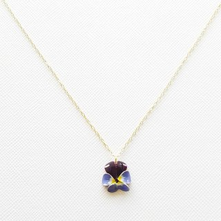 viola pendant & necklace <B>
