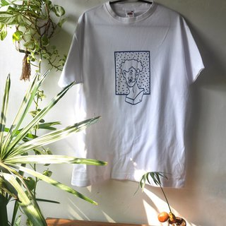 T-shirt illustrated by fk