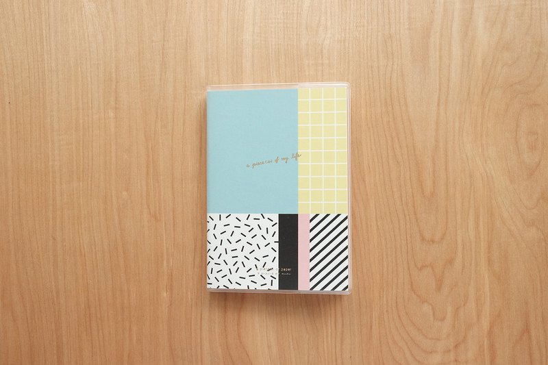 PLANNER A6 : GRAPHIC PASTEL