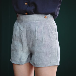 Cozy shorts : BlueGrey
