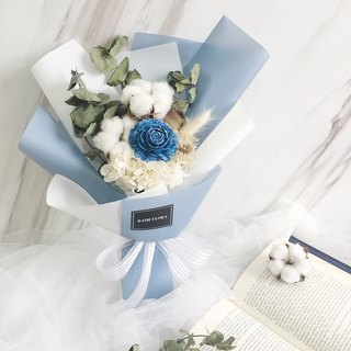 Small fresh + forest medium-sized dry flower bouquet dry flower / eternal flower
